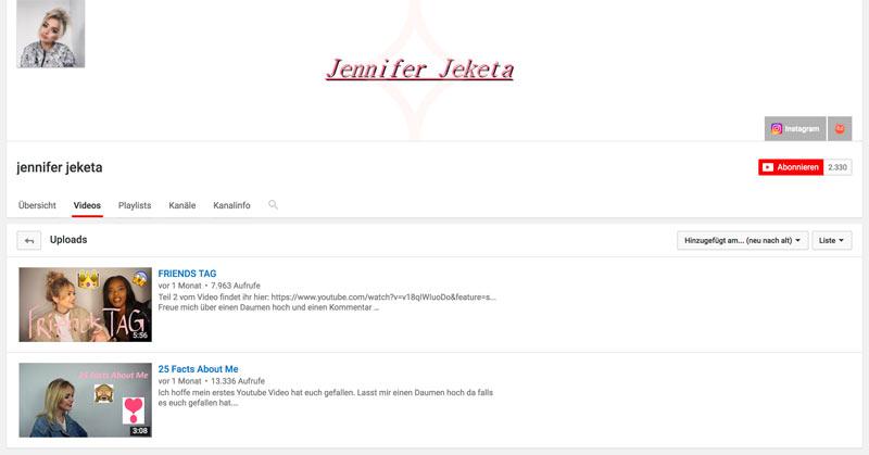 Wie Influencer ihre eigene Branche ruinieren - Beispiel Jennifer Jeketa
