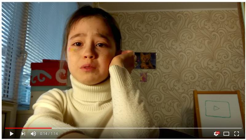 Russische 10 Jährige Youtuberin / Vloggerin geht viral
