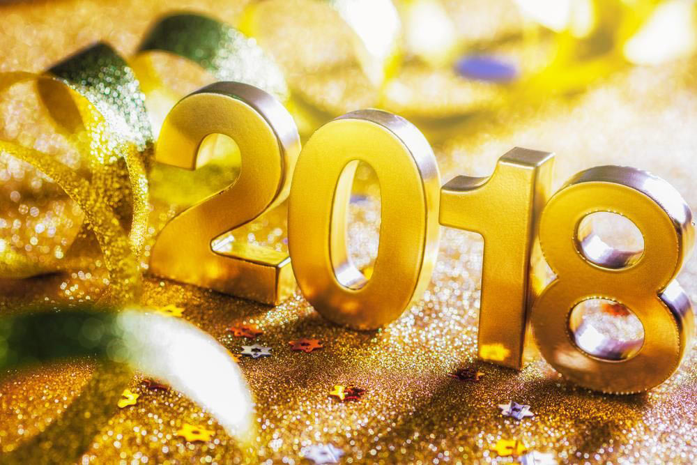 Bye Bye 2017 and a Happy New Year